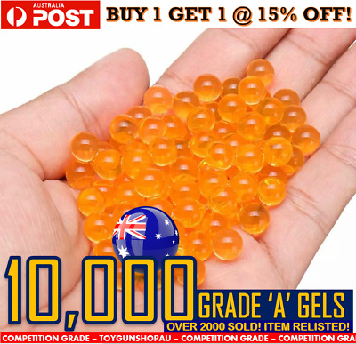 7-8Mm Gel Ball Gun Ammo Au Gel Ball Bullets Gel Balls Blaster Ammo Std Gun Ammo