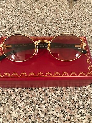 Cartier Gold & White Glasses
