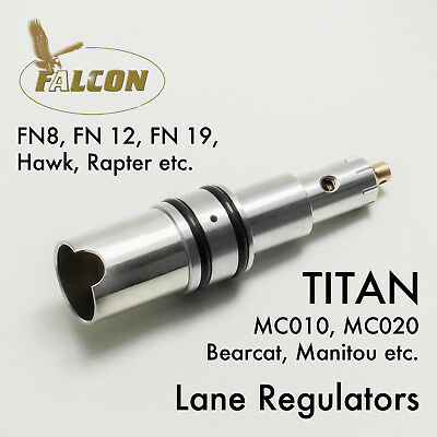 Falcon / Titan PCP 'MK9 Lancet' Airgun Regulator by Robert Lane made in the UK.
