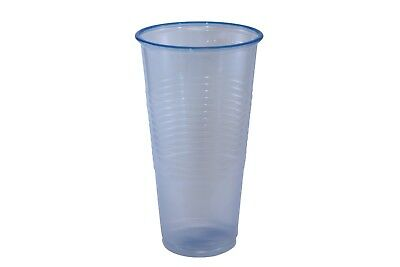 Plastic Disposable Cups in Ice Blue colour 9oz - (Box of 1000)