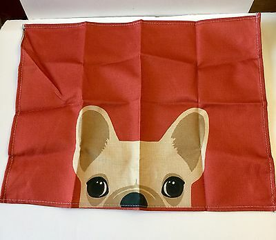 And French Bulldog Placemats