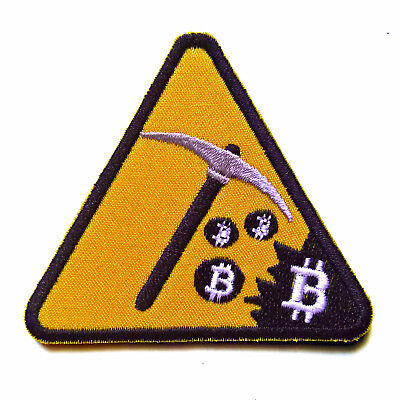 Bitcoin Mining Patch Sew On Patch Embroidered