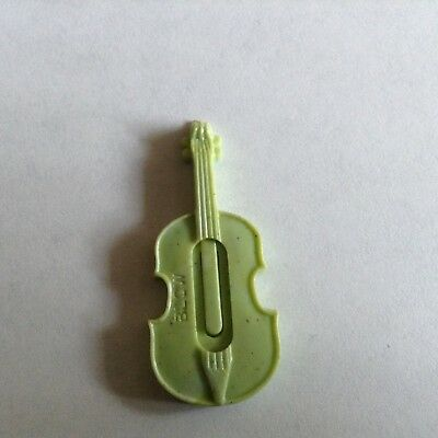 Vintage Cracker Jack Guitar Whistle Sage Green Works