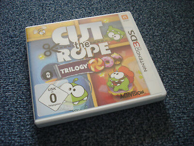 Cut the Rope Trilogy / Nintendo 3DS / Komplett