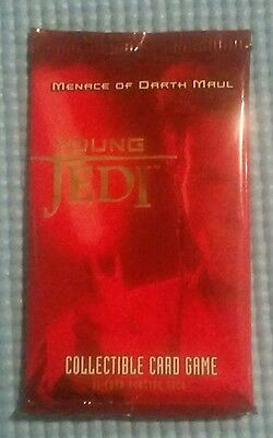 Star Wars - Young Jedi CCG: MENACE OF DARTH MAUL 11 card Booster Pack - NEW