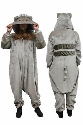 Pusheen Kigurumi Hooded One Piece Zip-up Suit