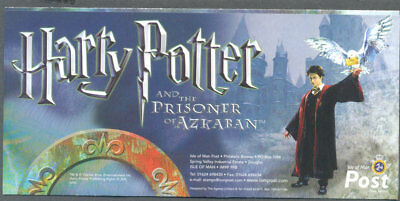 Harry Potter Airletter official isle of Man Post Office mnh