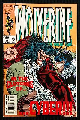 Wolverine #80. 1st Appearance X-23 Test Tube.
