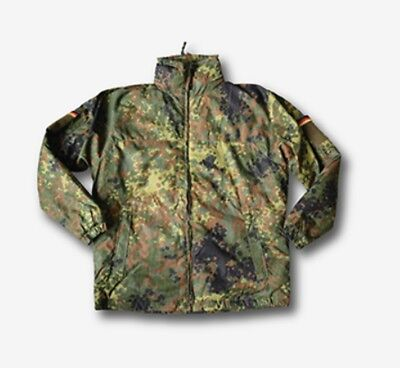LEO KÖHLER BW Kälteschutzjacke KSK Flecktarn Jacke German Army Cold Weather XXL