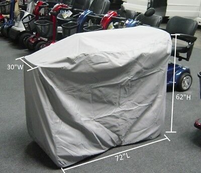 "Ultra large Mobility Scooter Storage Cover 72""L x 30""D x 62""H"