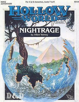 Dungeons & Dragons - HOLLOW WORLD - Nightrage (TSR9310) TOP!