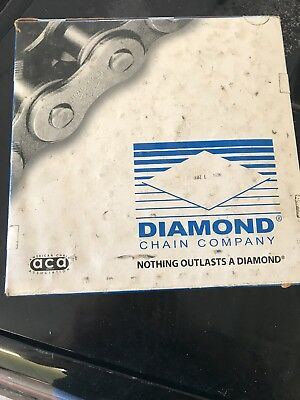 1 NEW DIAMOND X-5233-010 ROLLER CHAIN #60-2 Riv 10'/3.6m  LENGHTH