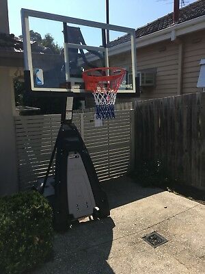 spalding basketball system The Beast