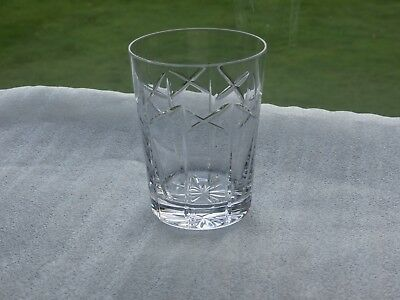 Irish Tyrone Crystal  Lemonade Glass / Tumbler
