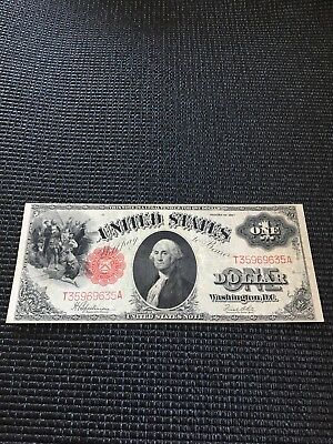 1917 $1 Large Note Red Seal
