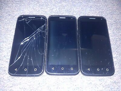 *FAULTY* 3 x ZTE Mobile Phones (Q Lux/Fit/4GX Buzz) - PARTS ONLY - AS IS