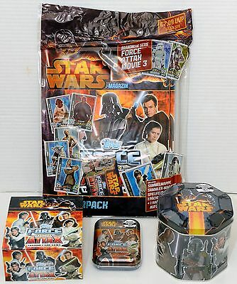Force Attax Movie Card Serie 3 - Starterpack + Display + Tin + Mini-Tin NEU OVP
