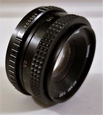 Vivitar 50mm f/2.0 camera  Lens Pentax K ? From Japan   (A8)