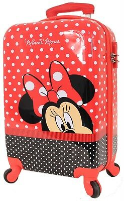 DISNEY Minnie Mouse HARD CASE SMALL CARRY ON - BRAND NEW RRP$199.00 Due November