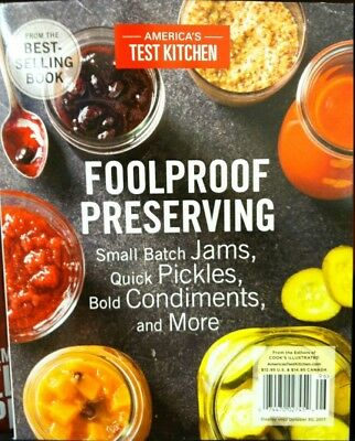 Americas Test Kitchen Foolproof Preserving 2017 cooks illustrated food Network