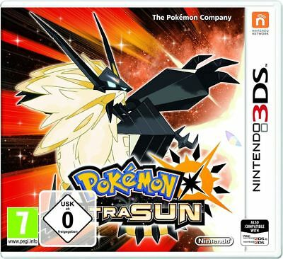 Pokemon Ultrasonne Nintendo 3DS Spiel *NEU OVP* Pokemon Ultra Sonne 3DS