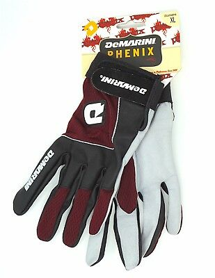 DeMarini Phenix Womens Baseball/Softball Maroon Red Batting Gloves -  XL