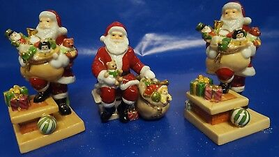 Royal Doulton Holiday Traditions Santa Figurine