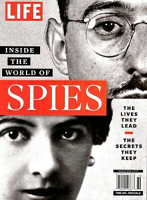 """LIFE Magazine:""""INSIDE THE WORLD OF SPIES"""" ~ Lives They Lead, Secrets Kept ~ NEW"""