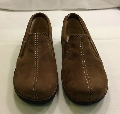 LL BEAN - Brown Suede-Leather Moccasins - NEW - 6 1/2 W