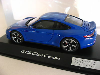 Porsche 911 GTS Club Coupe 991 Exclusive Manufaktur 1/43 60 Years Porsche Club