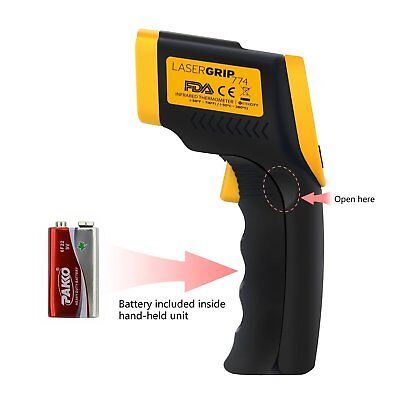 Lasergrip 774 Non-contact Digital Laser Infrared Thermometer