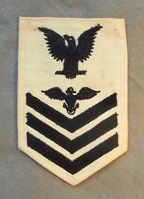 Rare WWII US Navy Naval Aviation Pilot 1st Class Rating Badge - Silver Eagles
