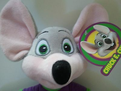 """NEW ITEM Fun Chuck E Cheese Limited Edition Soft Plush Doll New For 2018 13.5"""""""