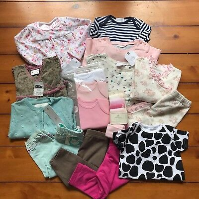 Girls Baby Clothes Bundle - 3-6 Months - All Brand New - RRP £81.00