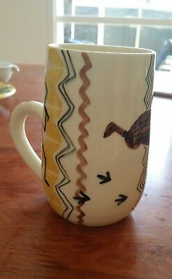 Martin Boyd Mug With Aboriginal Designs / Australian Pottery