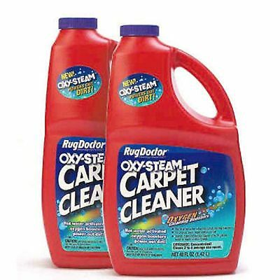 Rug Doctor Oxy Steam Carpet Cleaner Cleaning Solution - 2 pack x 48 oz. Bottles