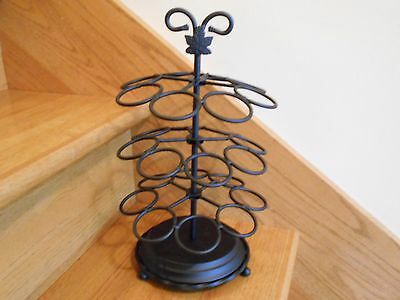 Longaberger Beverage Carousel Wrought Iron retired new in box *free shipping!*