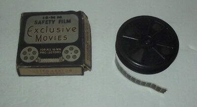 Vintage 16Mm Film Movie Buster Keaton Soda Clerk