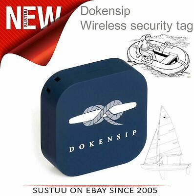 Dokensip SIDER│Wireless Security Tag│Fully Waterproof│For Dinghy Kayak Liferaft