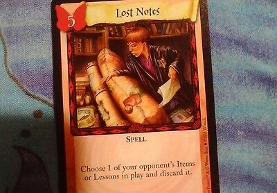 Mint! Harry Potter Trading Card Game  #94/116 Spell: Lost Notes! More In Store!