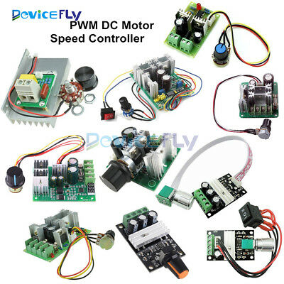 3/10/15/20A PWM 6-28/10-60V/6-60V/12-40V/6-90V/12V Motor Speed Controller Switch