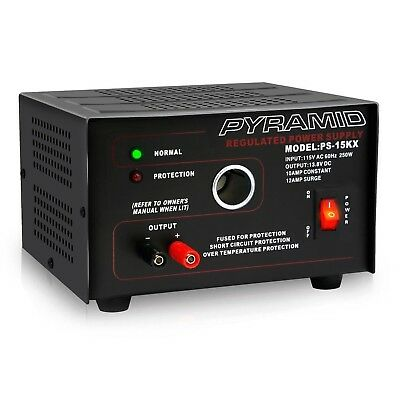 Pyramid Bench Power Supply | AC-to-DC Power Converter | 10 Amp Power Supply w...