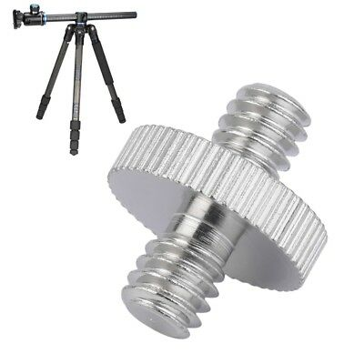 """1/4"""" Male to 1/4"""" Male Camera Screw Adapter For Tripod Mount Holder OW"""
