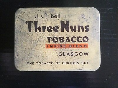 """ Three Nuns "" Tobacco Tin"