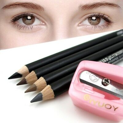 3pcs Precision Cosmetic Pencil Sharpener for Eyebrow Lip Liner Eyeliner