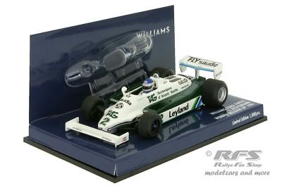 Williams Ford FW07C - Reutemann - Formel 1 GP Belgien 1981 - 1:43 Minichamps