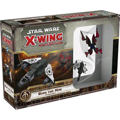 Star Wars - X-Wing Miniatures Game - Guns For Hire  Expansion Pack NEW