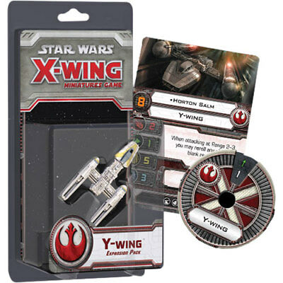 Star Wars X-Wing Miniatures Game Y-Wing Expansion Pack NEW Fantasy Flight Games