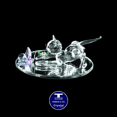 "[SPECIAL OFFER] ""Pouncing Cat"" Austrian Crystal Figurine was AU$68.00"