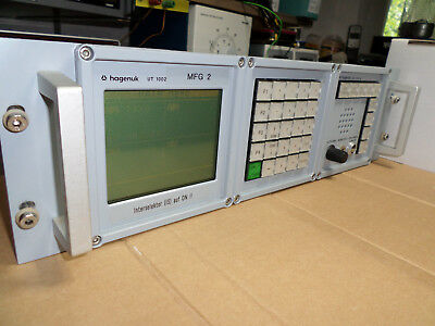 Hagenuk UT1002 User Terminal und UST1005 User Station (RS422)